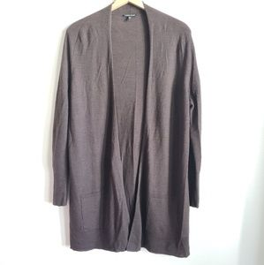Eileen Fisher Wool Cardigan with Pockets